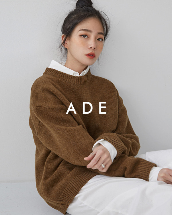 daily wool round knit